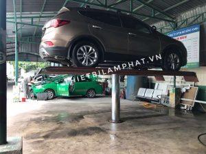 Cầu nâng 1 trụ rửa xe ô tô chất lượng giá hợp lý