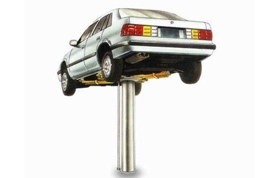 cầu nâng 1 trụ rửa xe ô tô cũ