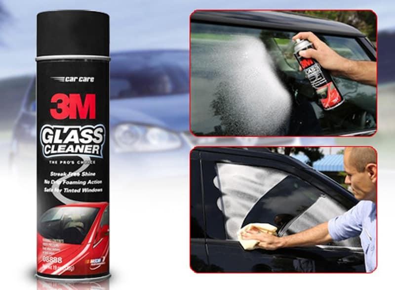 Nước rửa kính xe ô tô bình nén 3M Glass Cleaner