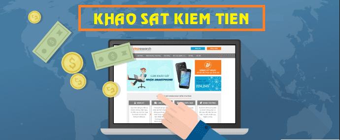 Nếu chưa biết làm gì để kiếm tiền, bạn có thể tìm kiếm vài trang web yêu cầu khảo sát và kinh doanh từ chúng.