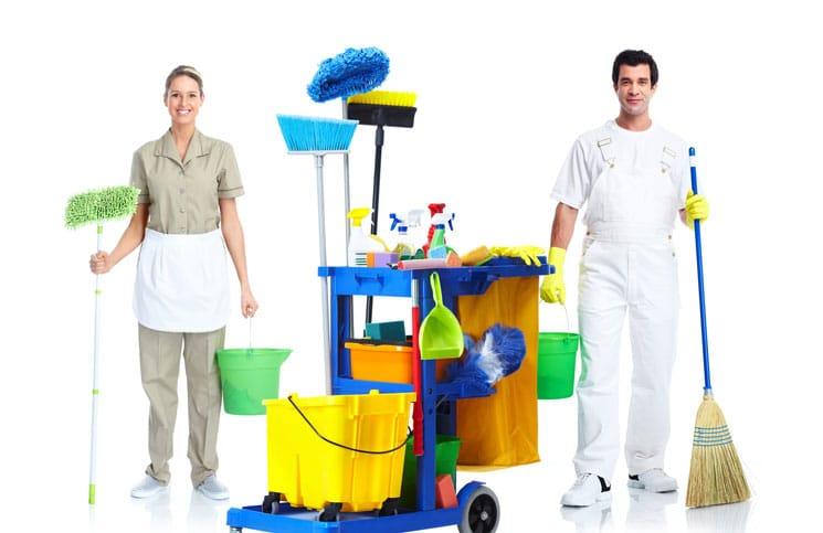 Kinh doanh dịch vụ dọn dẹp vệ sinh.