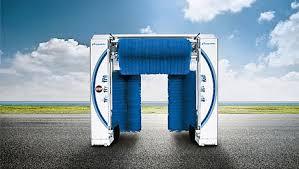 Việc sử dụng máy rửa xe tự động hỗ trợ giúp cắt giảm nhân sự, tiết kiệm chi phí