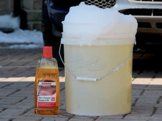 nước rửa xe Sonax được ưa chuộng trên thị trường