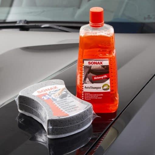 nước rửa xe Sonax tốt cho lớp sơn xe