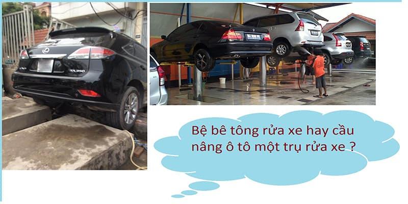 Địa chỉ bán cầu nâng rửa xe uy tín sẽ giúp bạn đảm bảo an toàn trong khi sử dụng