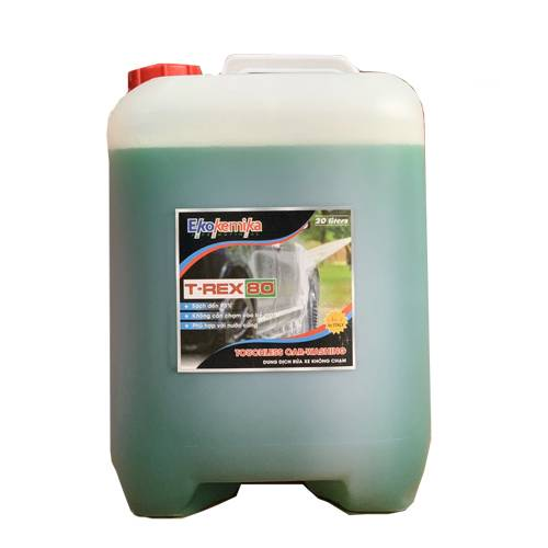 Dung dịch rửa xe không chạm Ekokemika T-REX 80 (20L)