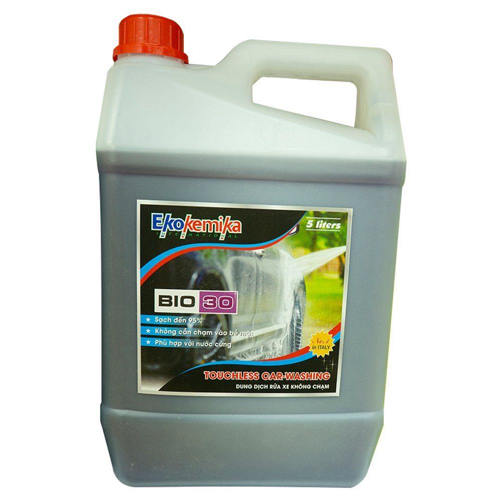 Dung dịch rửa xe không chạm Ekokemika Bio 30 bình 5 lít