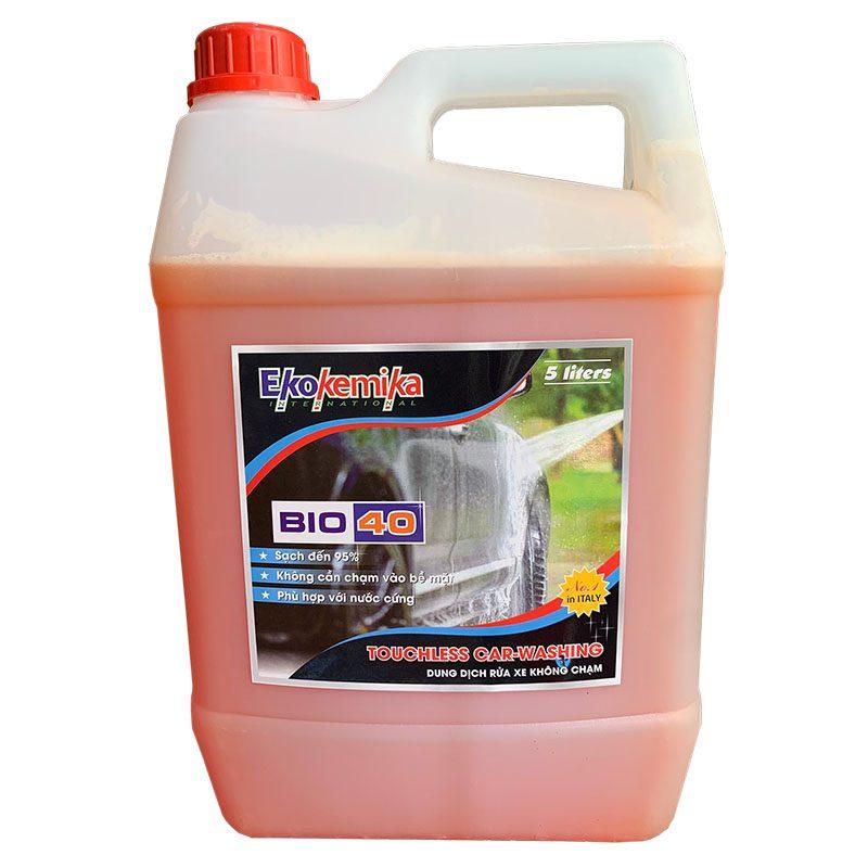Dung dịch rửa xe không chạm Ekokemika Bio 40 (5L)