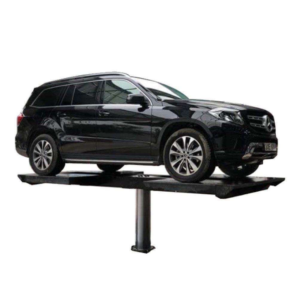 Cầu nâng 1 trụ rửa xe ô tô vận hành đơn giản