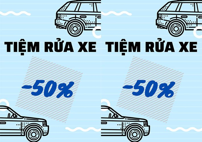Áp dụng các dịch vụ khuyến mãi khi sử dụng dịch vụ rửa xe