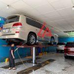Kích thước cầu nâng 1 trụ rửa xe ô tô