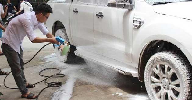 Mô hình kinh doanh mở tiệm rửa xe