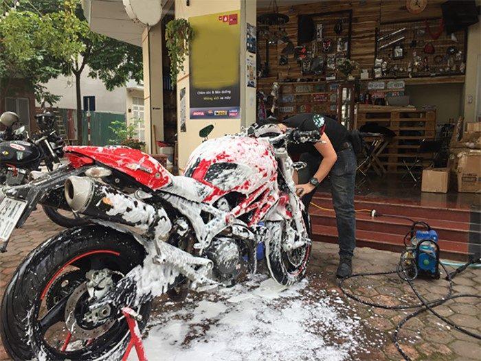 Nghiên cứu thị trường nhu cầu rửa xe máy