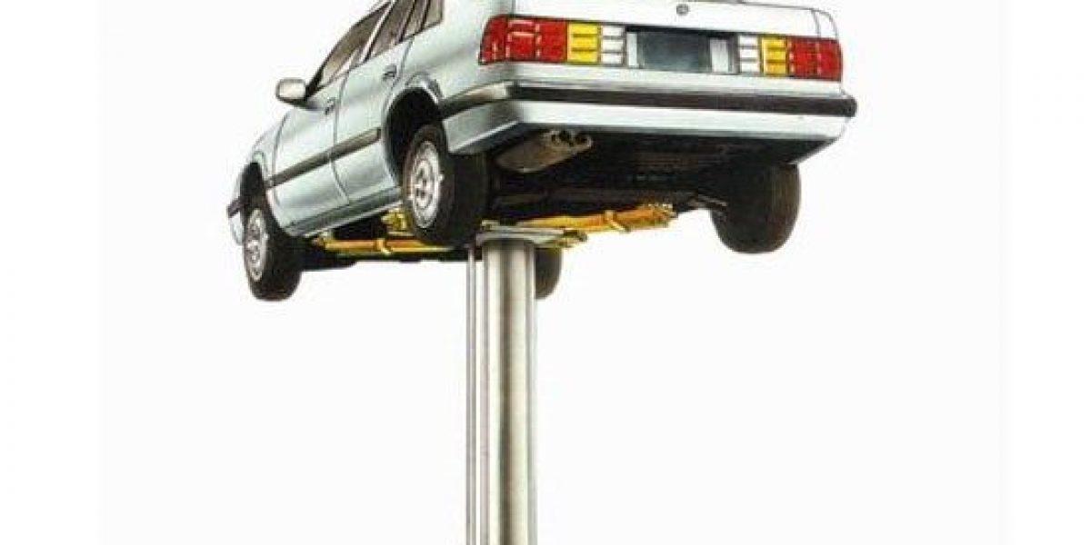 Cầu nâng 1 trụ rửa xe ô tô giá rẻ