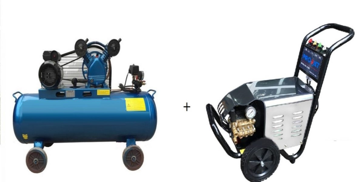 Tại sao nên sử dụng máy nén khí rửa xe chuyên nghiệp?